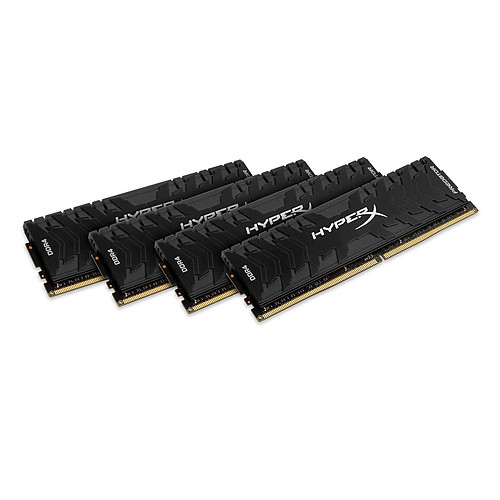 HyperX Predator Noir 128 Go (4 x 32 Go) DDR4 2666 MHz CL15 pas cher