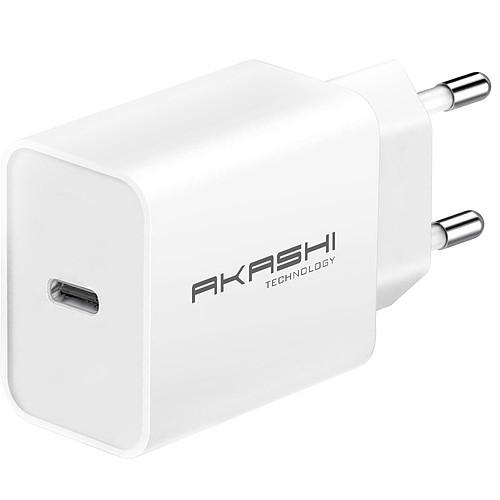 Akashi Chargeur secteur intelligent 3A USB-C 18W pas cher