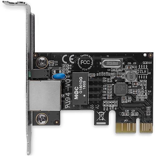 StarTech.com Carte réseau PCI Express à 1 port RJ45 Gigabit Ethernet - Low Profile pas cher