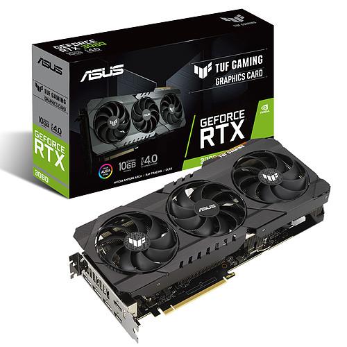 ASUS TUF GeForce RTX 3080 10G GAMING pas cher