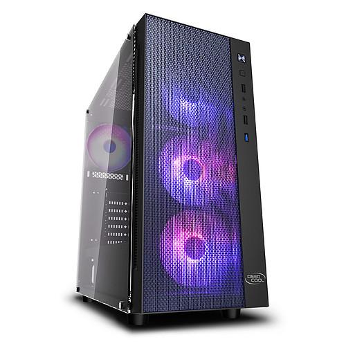 DeepCool GamerStorm Matrexx 55 Mesh ADD-RGB 4F Noir pas cher