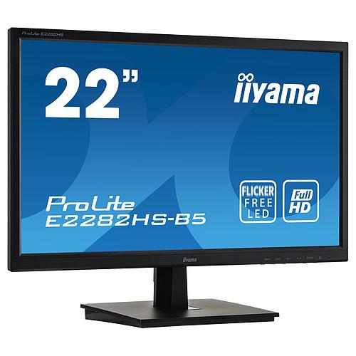 "iiyama 21.5"" LED - ProLite E2282HS-B5 pas cher"