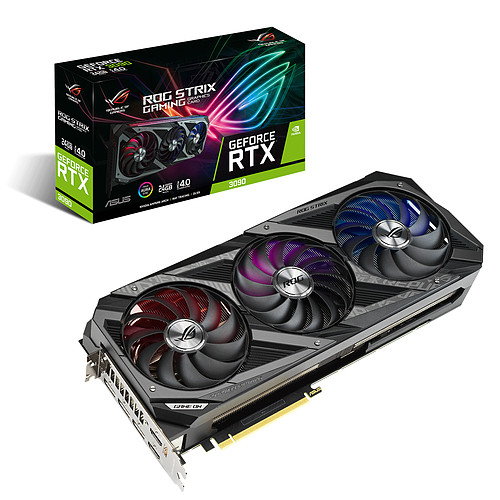ASUS ROG STRIX GeForce RTX 3090 O24G GAMING pas cher