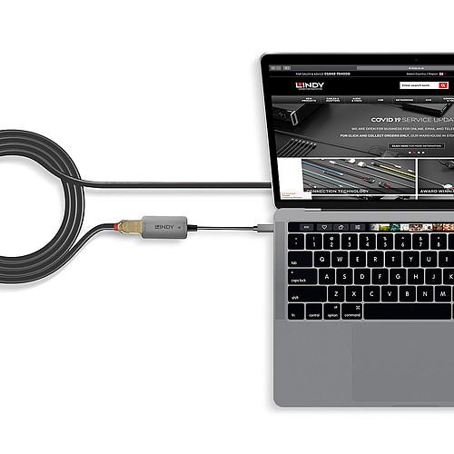Lindy Convertiseur USB-C / DisplayPort (M/F) pas cher