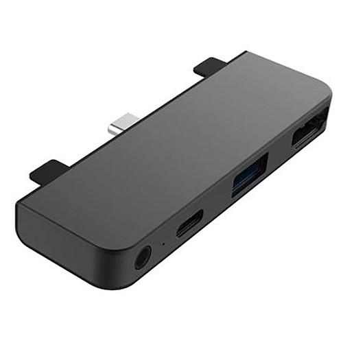 HyperDrive Hub USB-C 4-en-1 pour iPad Pro / Air 2020 (Gris) pas cher