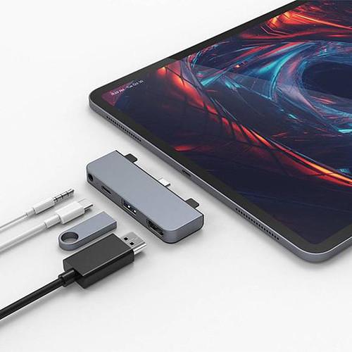 HyperDrive Hub USB-C 4-en-1 pour iPad Pro / Air 2020 (Argent) pas cher