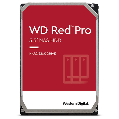 Western Digital WD Red Pro 2 To SATA 6Gb/s pas cher