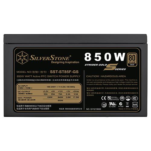 SilverStone Strider ST785F-GS V 1.0 80PLUS Gold pas cher