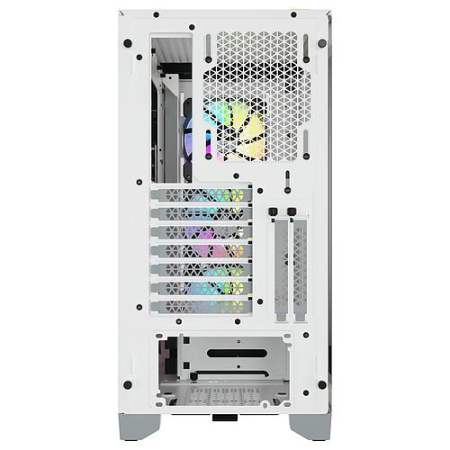Corsair iCUE 4000X RGB Tempered Glass (Blanc) pas cher