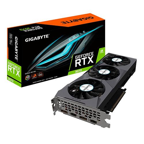 Gigabyte GeForce RTX 3070 EAGLE OC 8G (rev. 2.0) (LHR) pas cher
