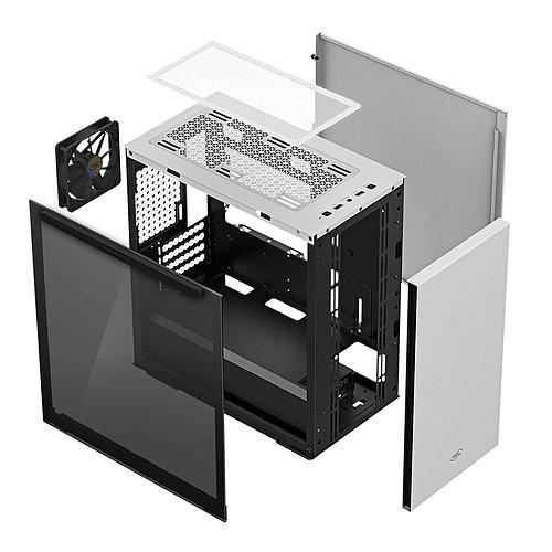 DeepCool Gamer Storm MACUBE 110 Blanc pas cher