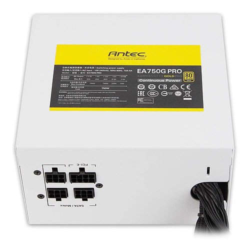 Antec EA750G PRO (Blanc) pas cher
