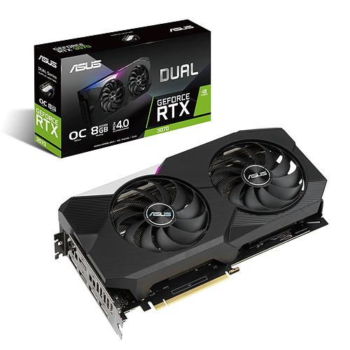 ASUS DUAL GeForce RTX 3070 8G pas cher