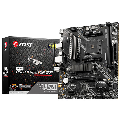MSI MAG A520M VECTOR WIFI pas cher
