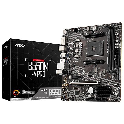 MSI B550M-A PRO pas cher