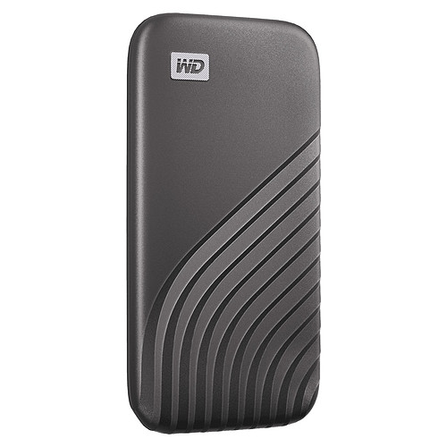 WD My Passport SSD 2 To USB 3.1 - Gris pas cher