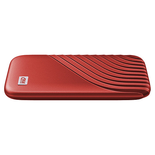 WD My Passport SSD 2 To USB 3.1 - Rouge pas cher