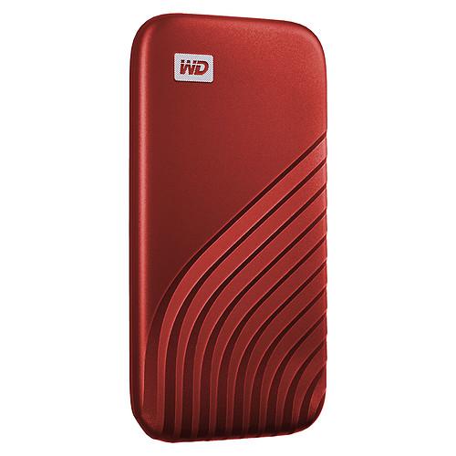 WD My Passport SSD 500 Go USB 3.1 - Rouge pas cher