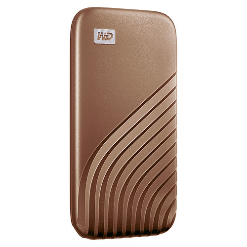 WD My Passport SSD 500 Go USB 3.1 - Or pas cher