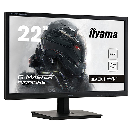 "iiyama 21.5"" LED - G-Master G2230HS-B1 Black Hawk pas cher"