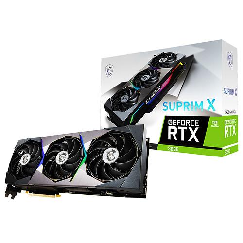 MSI GeForce RTX 3090 SUPRIM X 24G pas cher