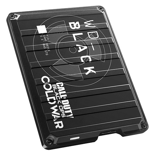 WD_Black P10 Game Drive 2 To Edition Spéciale Call of Duty: Black Ops Cold War pas cher