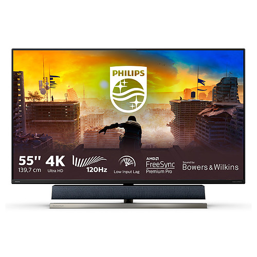 "Philips 55"" LED - Momentum 558M1RY pas cher"