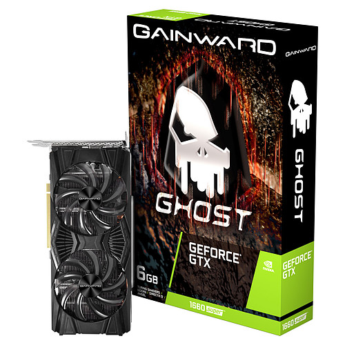 Gainward GeForce GTX 1660 SUPER Ghost pas cher