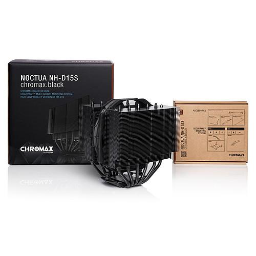 Noctua NH-D15S Chromax .Black pas cher