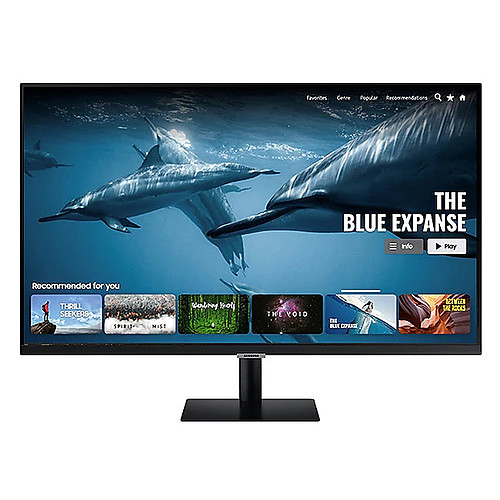 "Samsung 27"" LED - Smart Monitor M5 S27AM500NR pas cher"