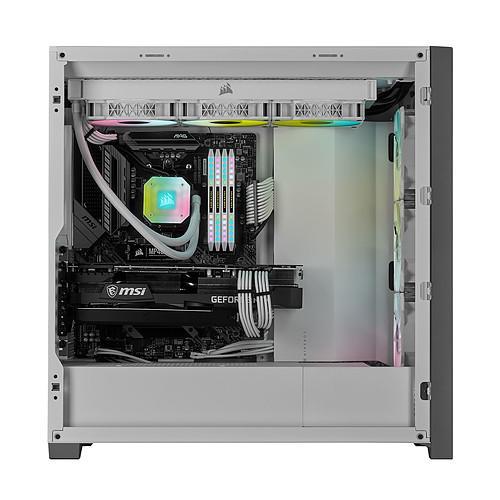 Corsair iCUE 5000X RGB Tempered Glass (Blanc) pas cher