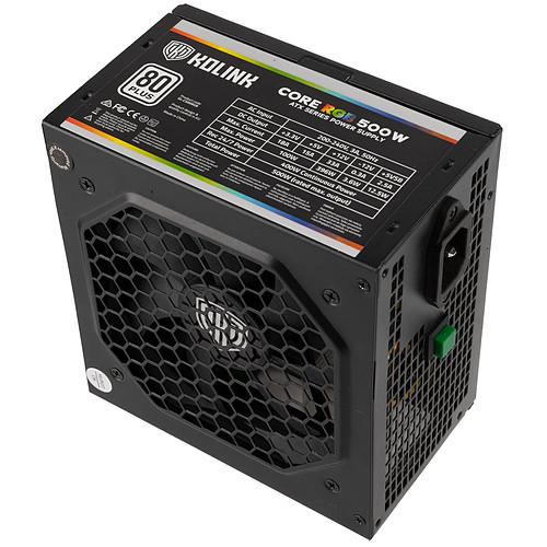 Kolink Core RGB 500W pas cher