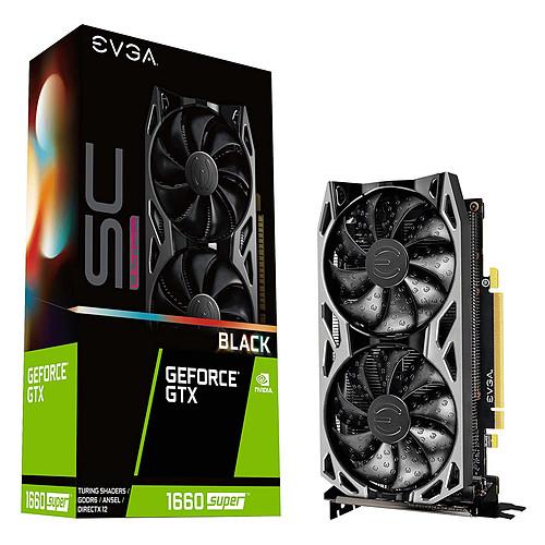 EVGA GeForce GTX 1660 SUPER SC ULTRA BLACK GAMING pas cher