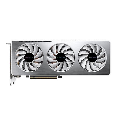 Gigabyte GeForce RTX 3060 Ti VISION OC 8G (rev. 2.0) (LHR) pas cher