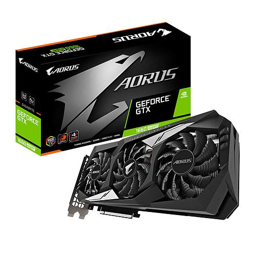 Gigabyte AORUS GeForce GTX 1660 SUPER 6G pas cher