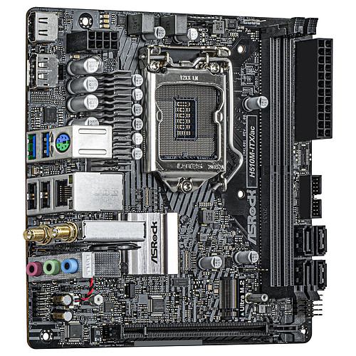ASRock H510M-ITX/ac pas cher