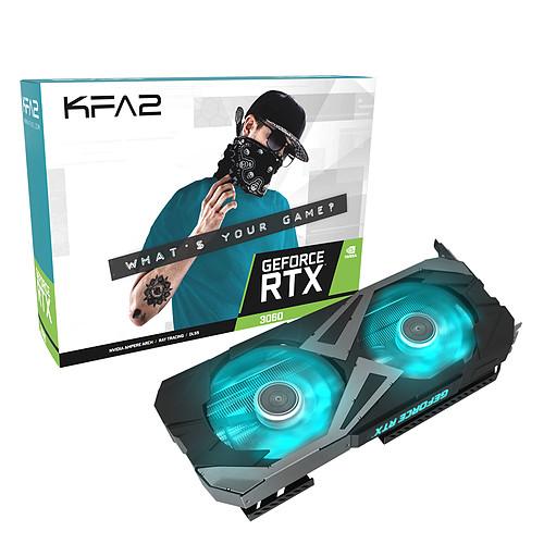 KFA2 GeForce RTX 3060 EX (1-Click OC) pas cher
