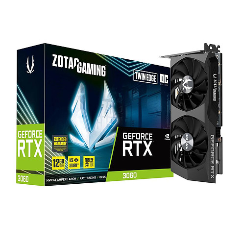 ZOTAC GeForce RTX 3060 Twin Edge OC pas cher