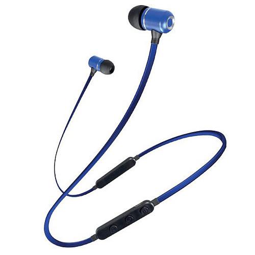 Schneider Earphones Bluetooth Micro Bleu pas cher