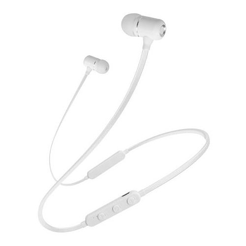 Schneider Earphones Bluetooth Micro Blanc pas cher