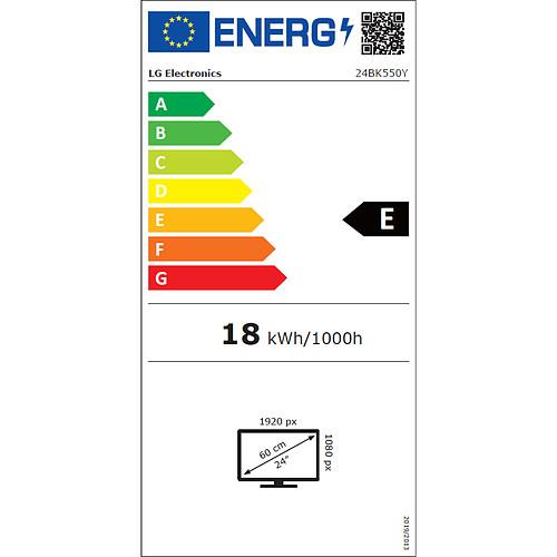 "LG 24"" LED 24BK550Y-B pas cher"