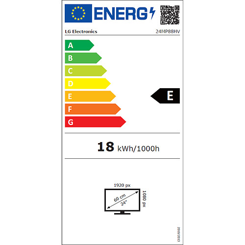 "LG 24"" LED 24MP88HV-S pas cher"
