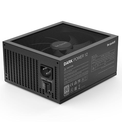 be quiet! Dark Power 12 750W 80PLUS Titanium pas cher