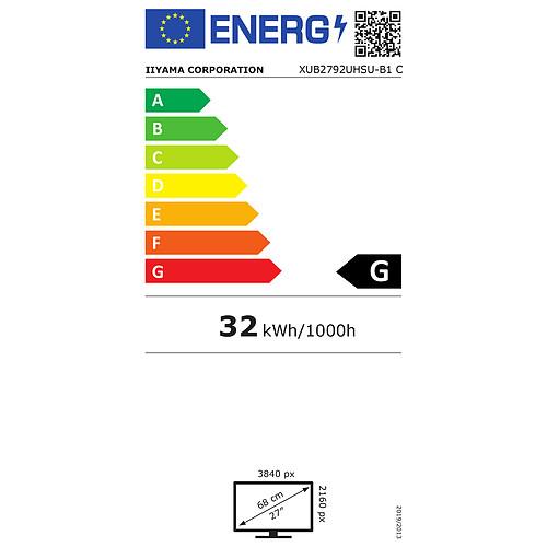 """iiyama 27"""" LED - ProLite XUB2792UHSU-B1 pas cher"""