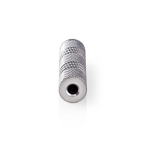 Nedis Coupleur métal Jack 3.5 mm femelle/femelle pas cher