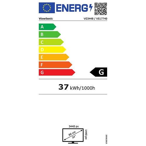 """ViewSonic 34"""" LED - VG3448 pas cher"""