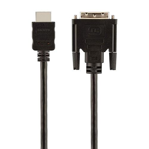 Belkin Câble DVI-D Dual Link (mâle) / HDMI (mâle) - 1.8 mètres pas cher