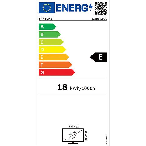 "Samsung 23.8"" LED - S24R650FDU pas cher"