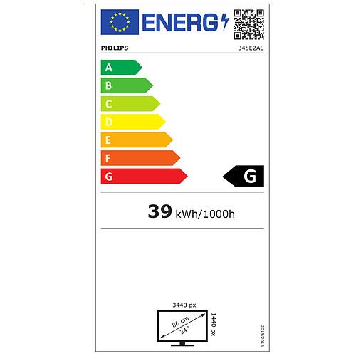 """Philips 34"""" LED - 345E2AE/00 pas cher"""
