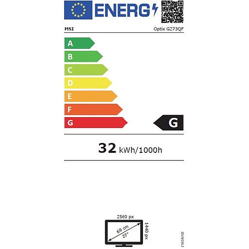 """MSI 27"""" LED - Optix G273QF pas cher"""